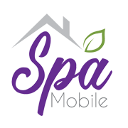 png logo os spa mobile green, purple