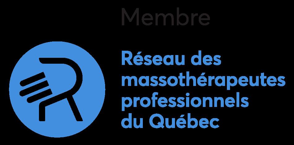 Réseau des massothérapeutes Logotype Membre Couleur Prix