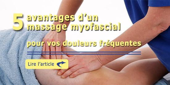 5 avantages massage myofascial
