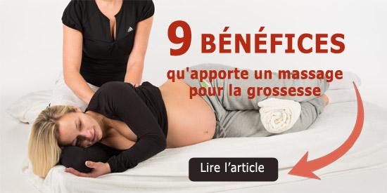 9 bénéfices qu'apporte un massage pour la grossesse