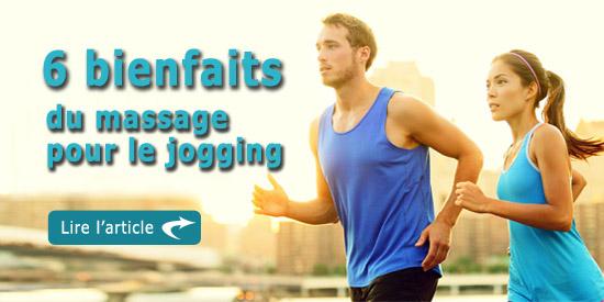 6 bienfaits de la massothérapie pour le jogging