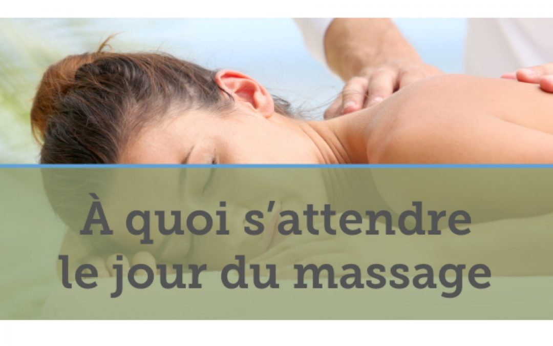 le jour du massage - Spa Mobile