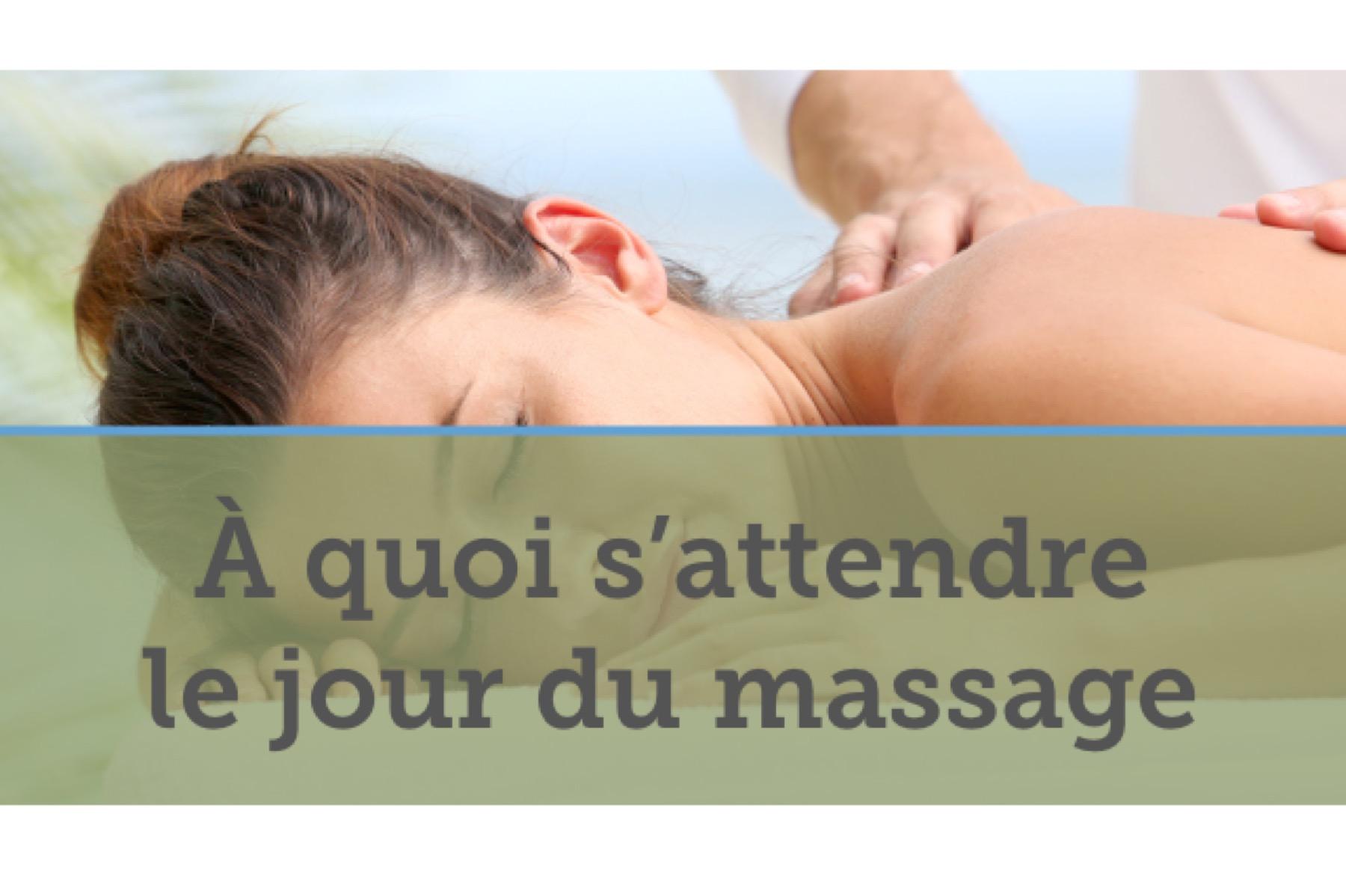 le jour du massage - Spa Mobile