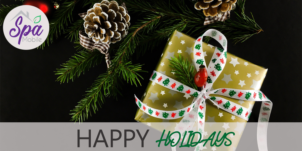 happy holiday gift certificates for massage