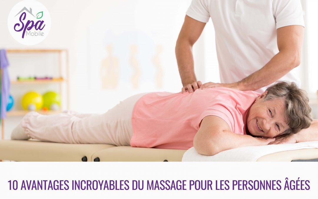 10 Bienfaits Exceptionnels Du Massage Pour Les Personnes Âgées