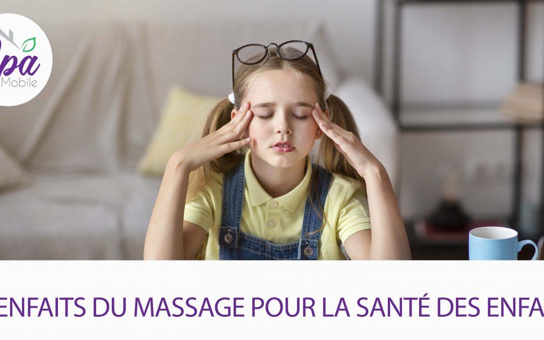 5 bienfaits du massage pour la sante des enfants 2