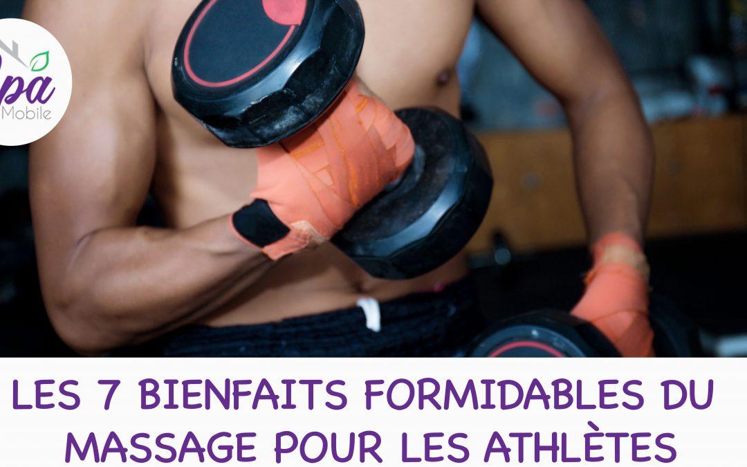 7 bienfaits formidables du massage pour les athlètes