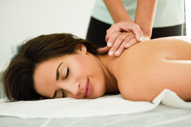 back massage, in-home massage