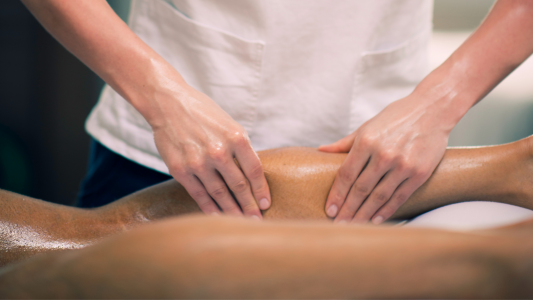 Strong massage