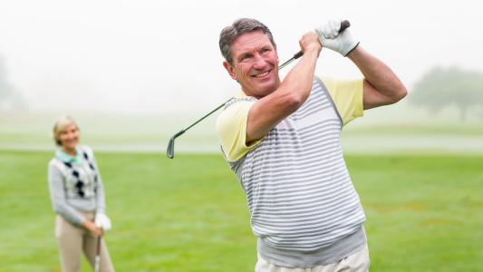 massage pour golfeurs