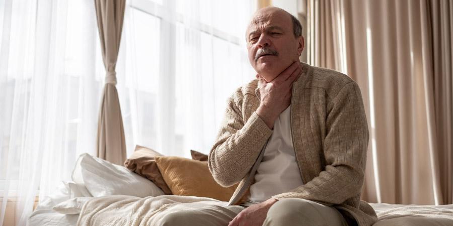 Mal de gorge et massage lymphatique