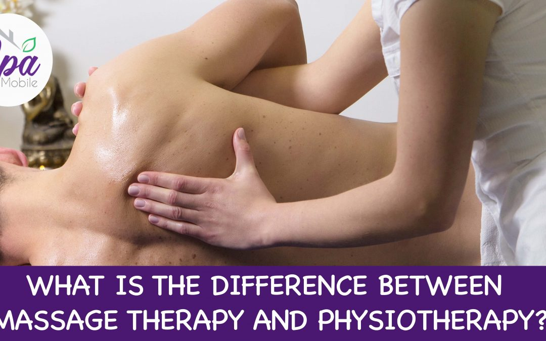 difference physiotherapy and massage therapy