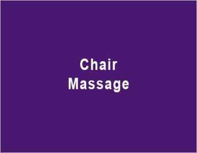 Massage sitting on a chair