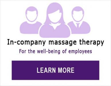 In-company massage therapy