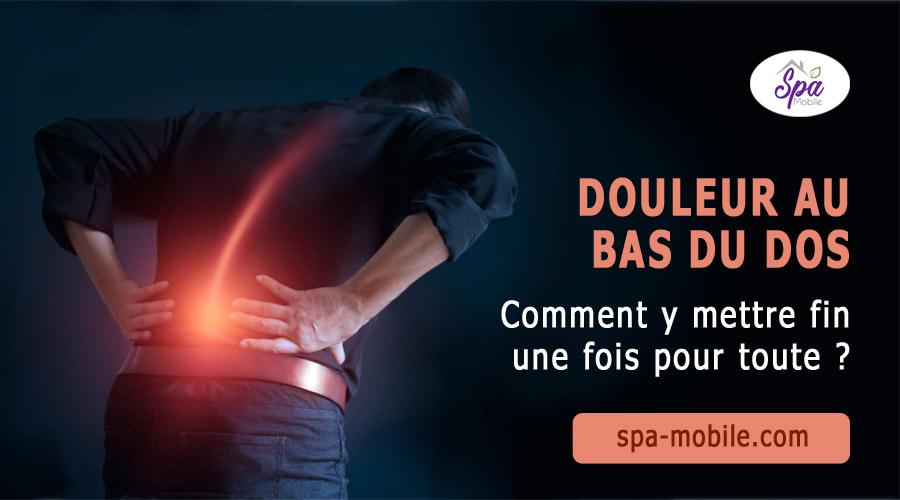 Douleur au bas du dos