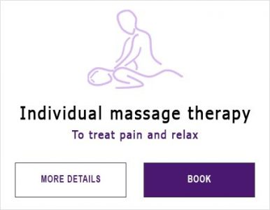Massage therapy for women or men