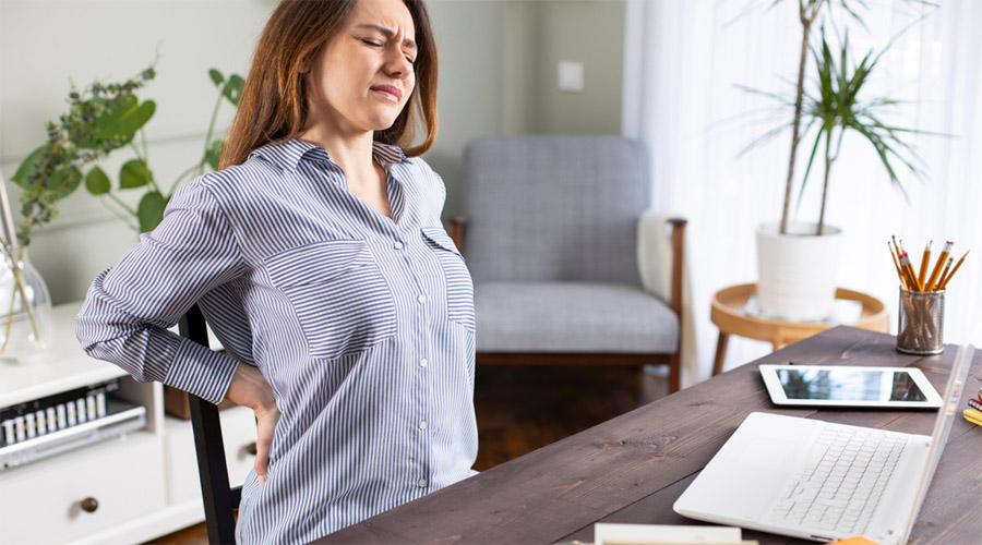 Permanent solution to chronic back pain