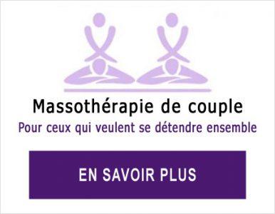 Massothérapie pour couple
