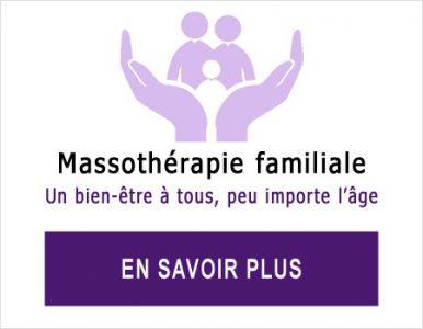 Massothérapie pour la famille