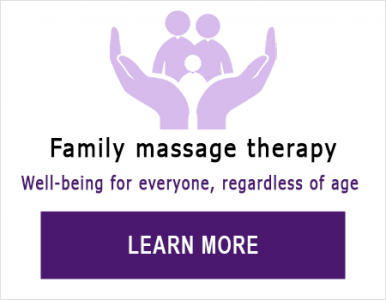 Massage therapy for the family