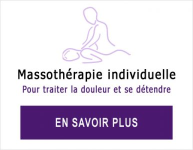 Massothérapie pour femme ou homme