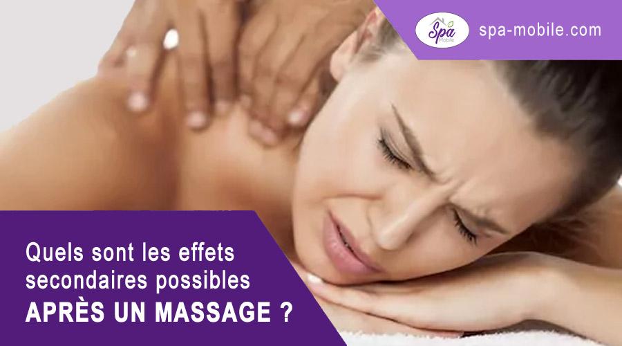 Quels sont les malaises ou les risques possibles après un massage ?