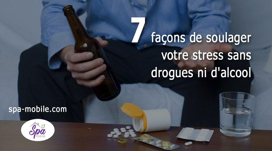 7 façons de soulager votre stress sans consommer de drogues ni d'alcool